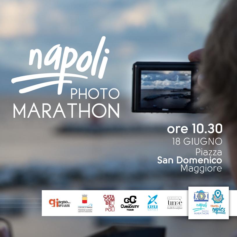 Al kestè Napoli negli scatti della maratona fotografica