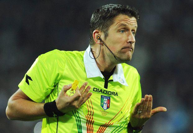 Orsato ha marchiato una brutta serata per il calcio italiano