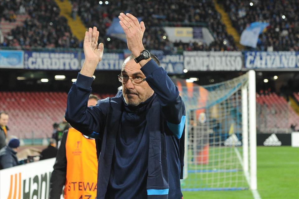 Sarri: «Il popolo napoletano considera la Coppa uno sfizio, è il coso che gli interessa»