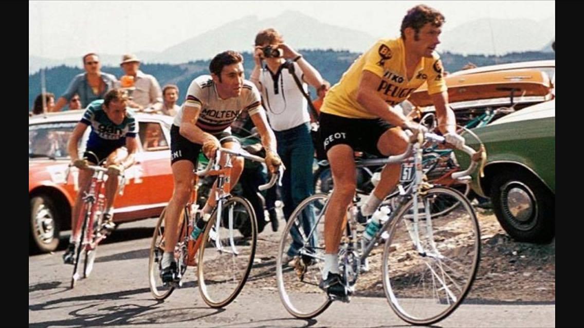 Il Napoli-Thevenet contro la Juve-Merckx