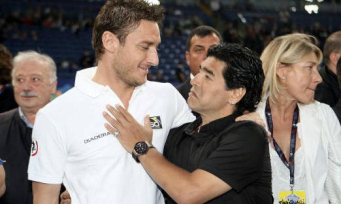Totti: «Higuain? Non tutti gli stranieri come Maradona, sono nomadi senza cuore»