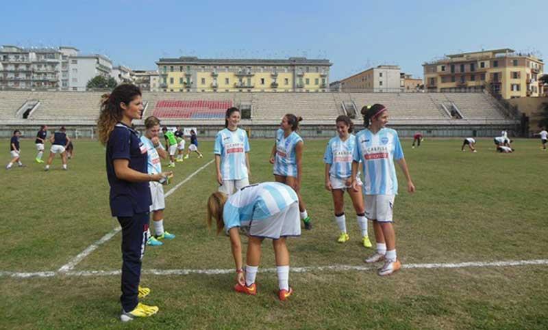 Il sogno del Carpisa: la cittadella del calcio femminile ad Agnano e il Collana