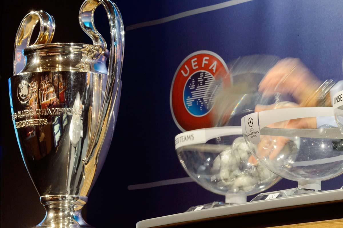 Sorteggi Champions: derby di Madrid e Monaco-Juventus