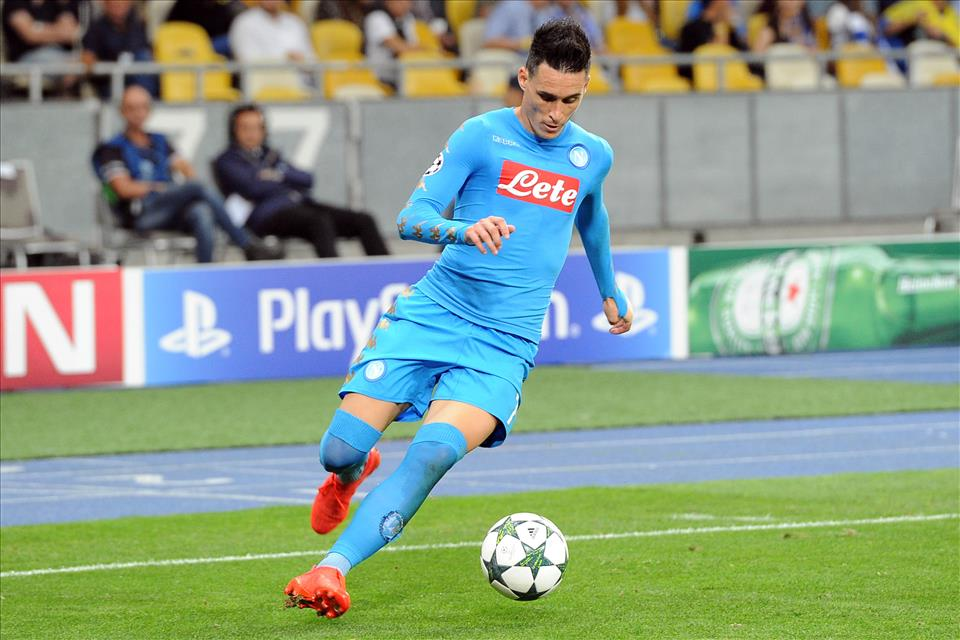 Dinamo Kiev-Napoli, maglia sudata a Callejon (non si ferma mai)