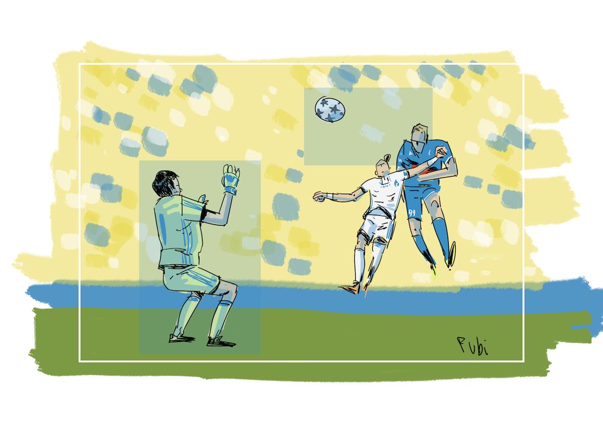 Il gol di Milik e l'indecisione di Shovkoskiy (è lui l'uomo partita)