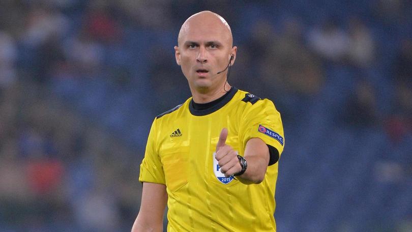 Sergej Karasev arbitrerà Napoli-Besiktas: ha già diretto gli azzurri in Champions