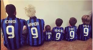 La famiglia di Mauro Icardi