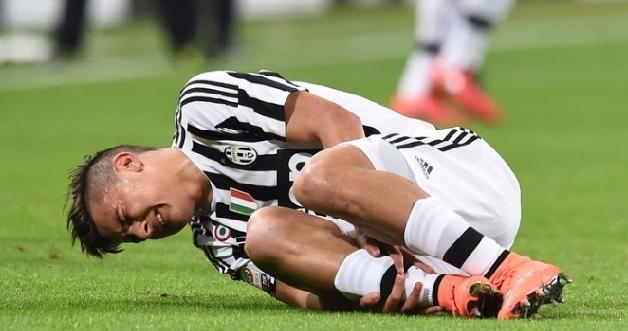 Juventus, Dybala esce per infortunio