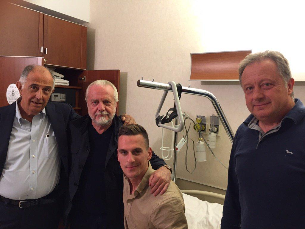 De Nicola contro la Gazzetta: «Falsità su Milik, che ledono il Napoli e la nostra professionalità»