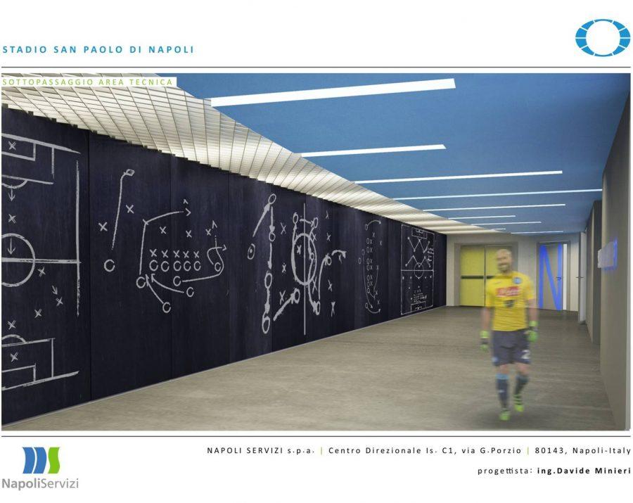 Stadio San Paolo, i primi lavori in novanta giorni. Si parte a fine anno (tutte le foto)
