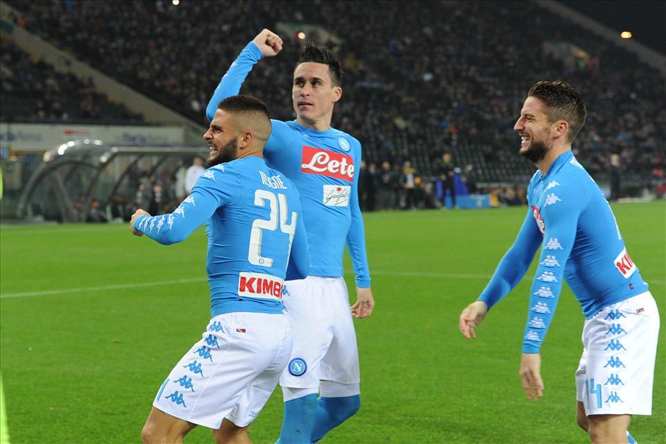 Delle prime in classifica, il Napoli ha battuto solo il Milan