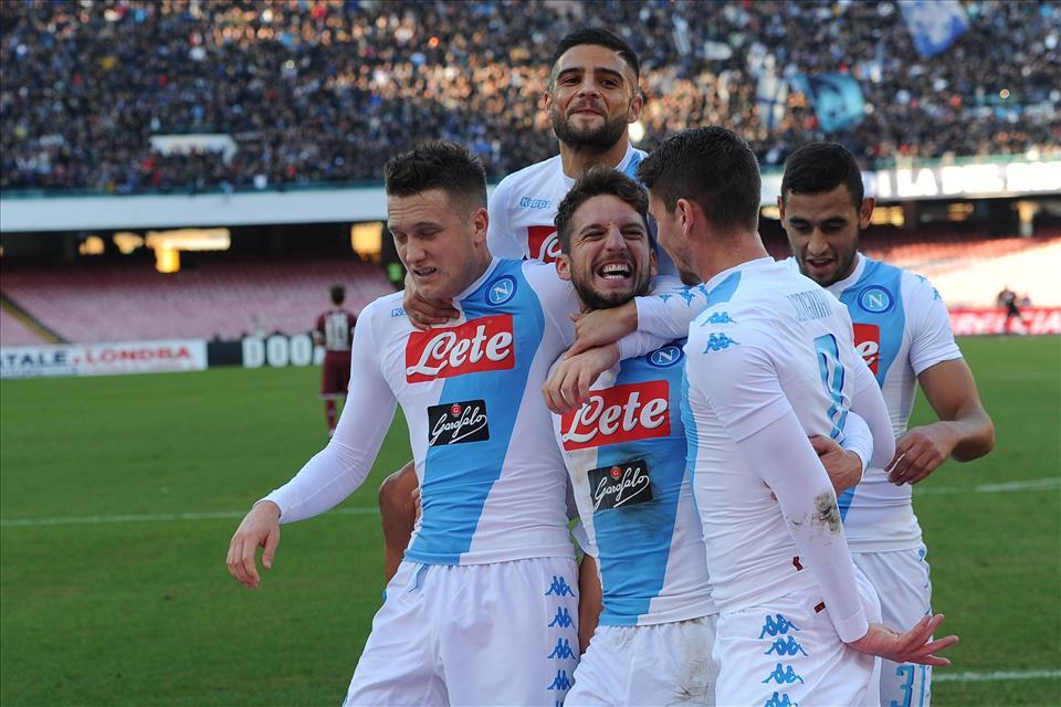 La maglia sudata è di Mertens, ma ora quali sono gli obiettivi del Napoli?