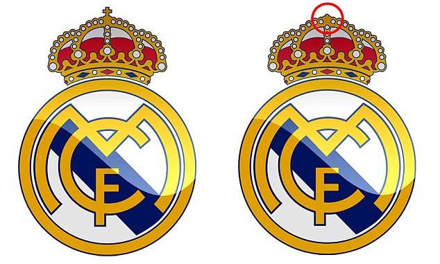 Il Real Madrid rinnega la croce nel logo in nome del fatturato