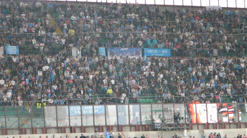 Basta la tessera del tifoso per assistere a Milan-Napoli, quale trasferta vietata