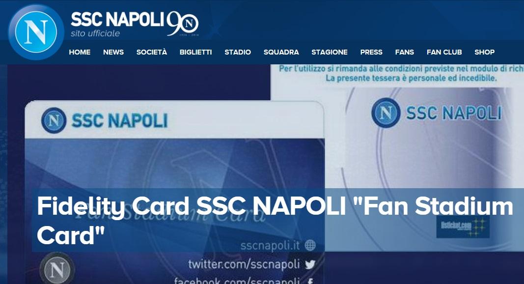Cara SSC Napoli, perché per il Real Madrid la Fidelity Card è carta straccia?