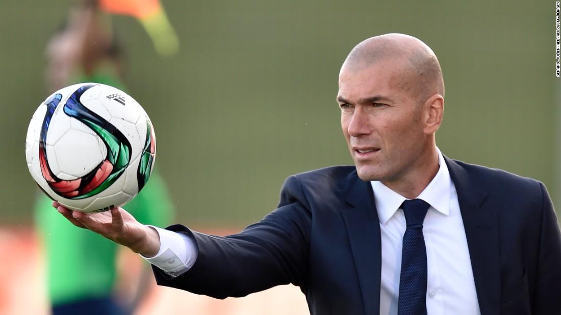 Zidane: «Soffriremo molto contro il Napoli, non contano i moduli ma l'attitudine»