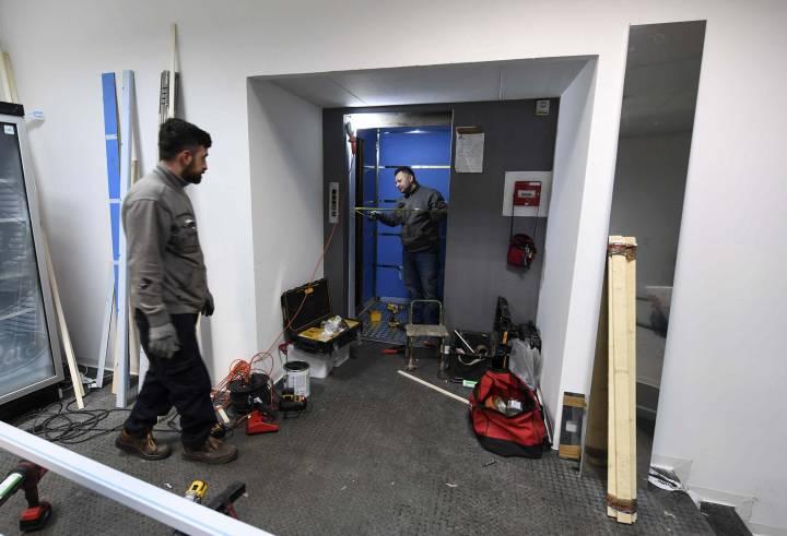 lavori di ristrutturazione dello stadio san paolo di Napoli
