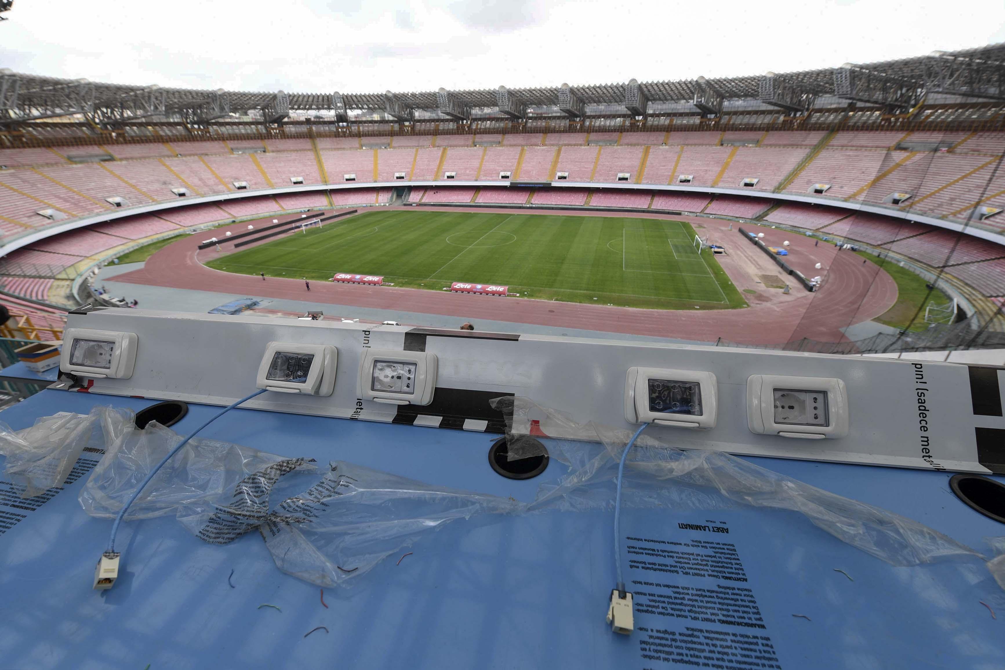 Stadio San Paolo, Borriello: «Non conosciamo la tempistica dei lavori»