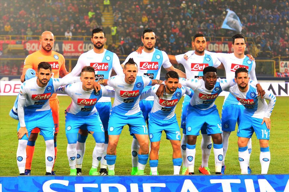 La Lega Serie A e i primati del Napoli di Sarri: gol, tiri e chilometri percorsi