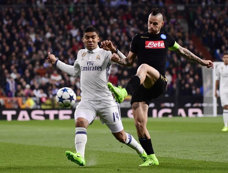 Real Madrid-Napoli è stata la partita internazionale più vista dell'anno