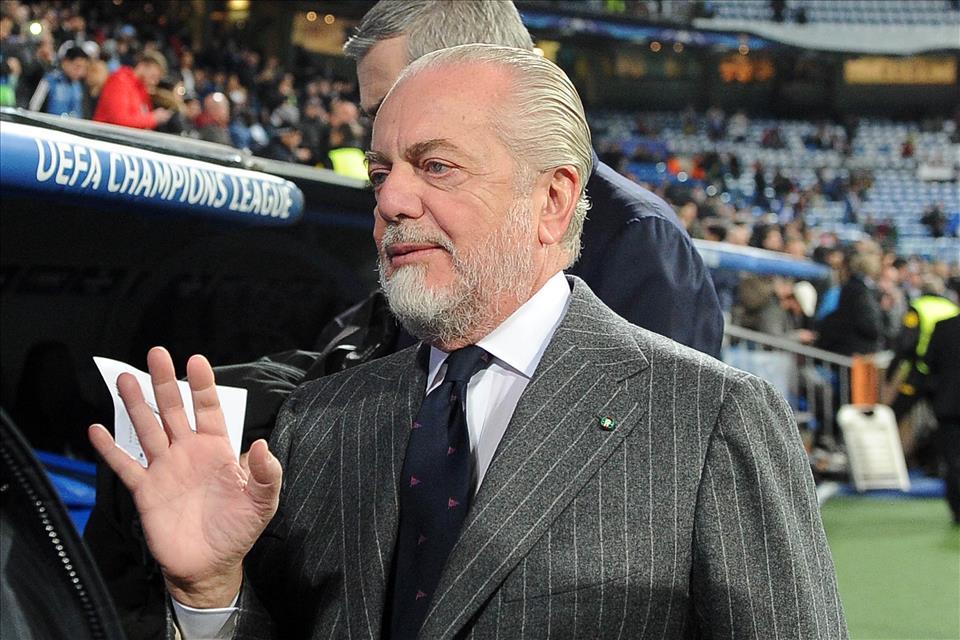 De Laurentiis: «Ancelotti può rimanere per anni, con Sarri era diventata una questione di denaro»