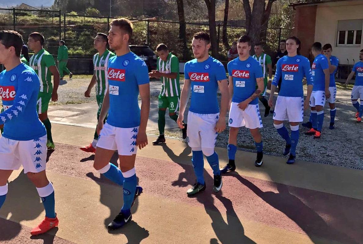 Napoli Primavera, il Viareggio parte con un pari: 1-1 con il Deportivo Camioneros