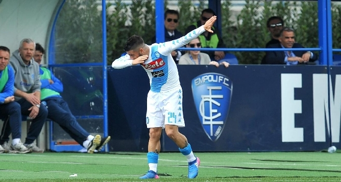 Quinto successo di fila in trasferta, prima storica vittoria ad Empoli