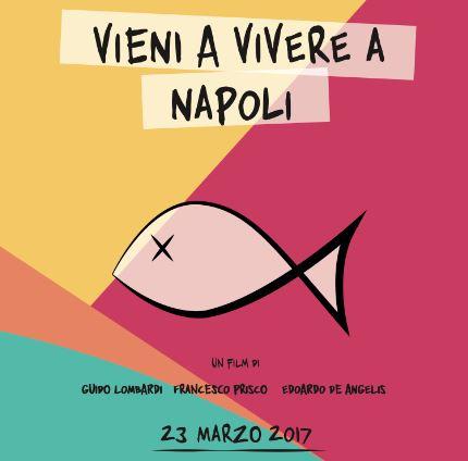 Vieni a vivere a Napoli. Il film diventa mostra d'arte