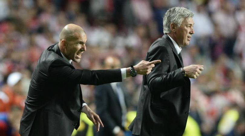 Sull'Economist l'algoritmo degli allenatori: Ancelotti ultimo, Camolese più avanti di Zidane