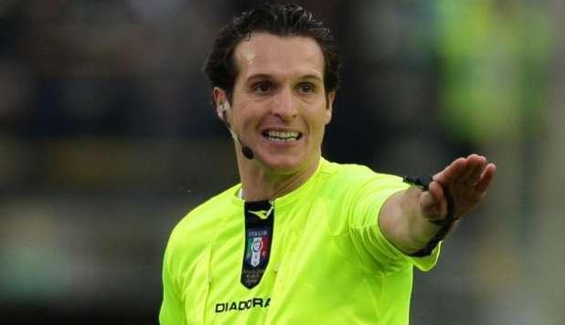 Milan-Napoli, dirige Banti; fu l'arbitro della vittoria a San Siro con Benitez in panchina
