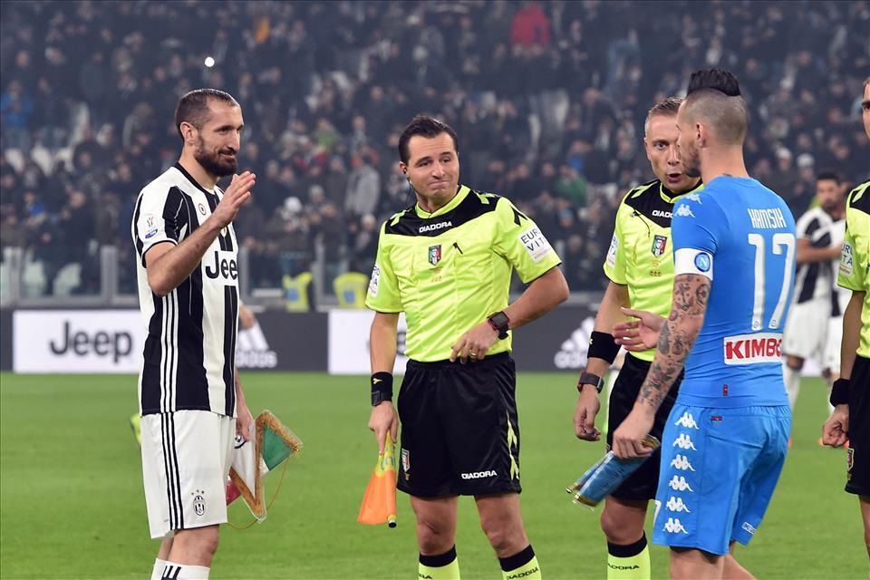 Juventus-Napoli / Per un attimo mi è mancato Caressa, Valeri è pronto per i Mondiali