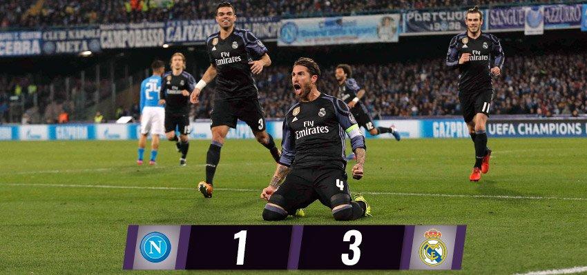 Al Madrid bastano cinque minuti. Il Napoli sia orgoglioso di sé