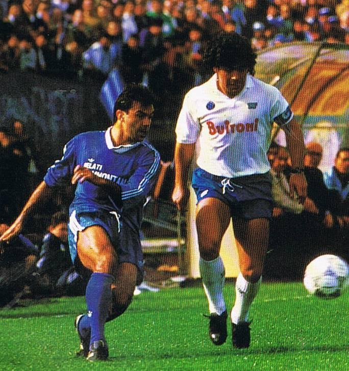 Mazzarri, Sarri e quell'Empoli-Napoli di trent'anni fa con Maradona