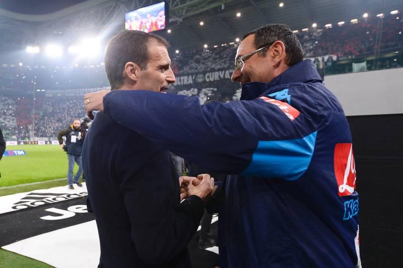 Gazzetta: «Un cambio Allegri-Sarri? Un azzardo dire che Max farebbe meglio al Napoli»