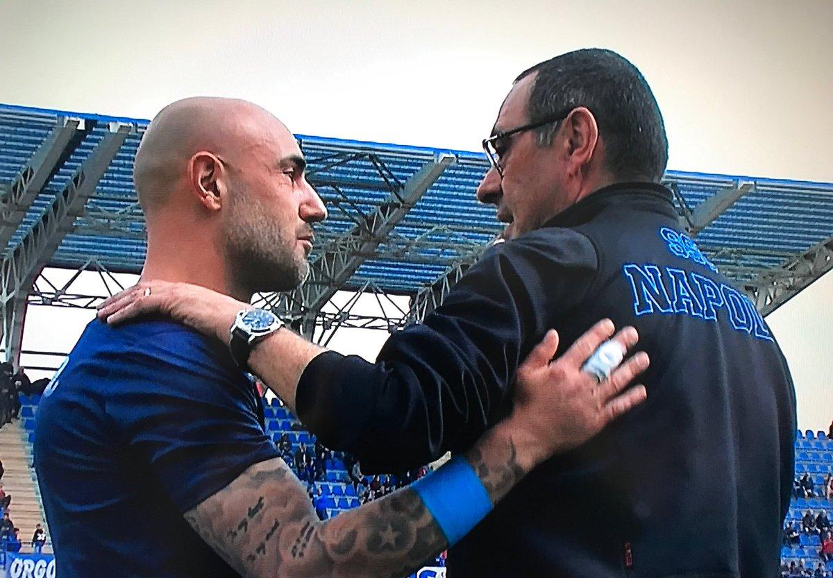 Sarri: «Perché gioca sempre il Napoli alle 12.30? Ho fatto una cazzata a togliere Jorginho»