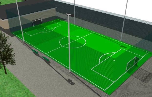 A Caivano nasce Green Park, campo giochi realizzato con gli pneumatici