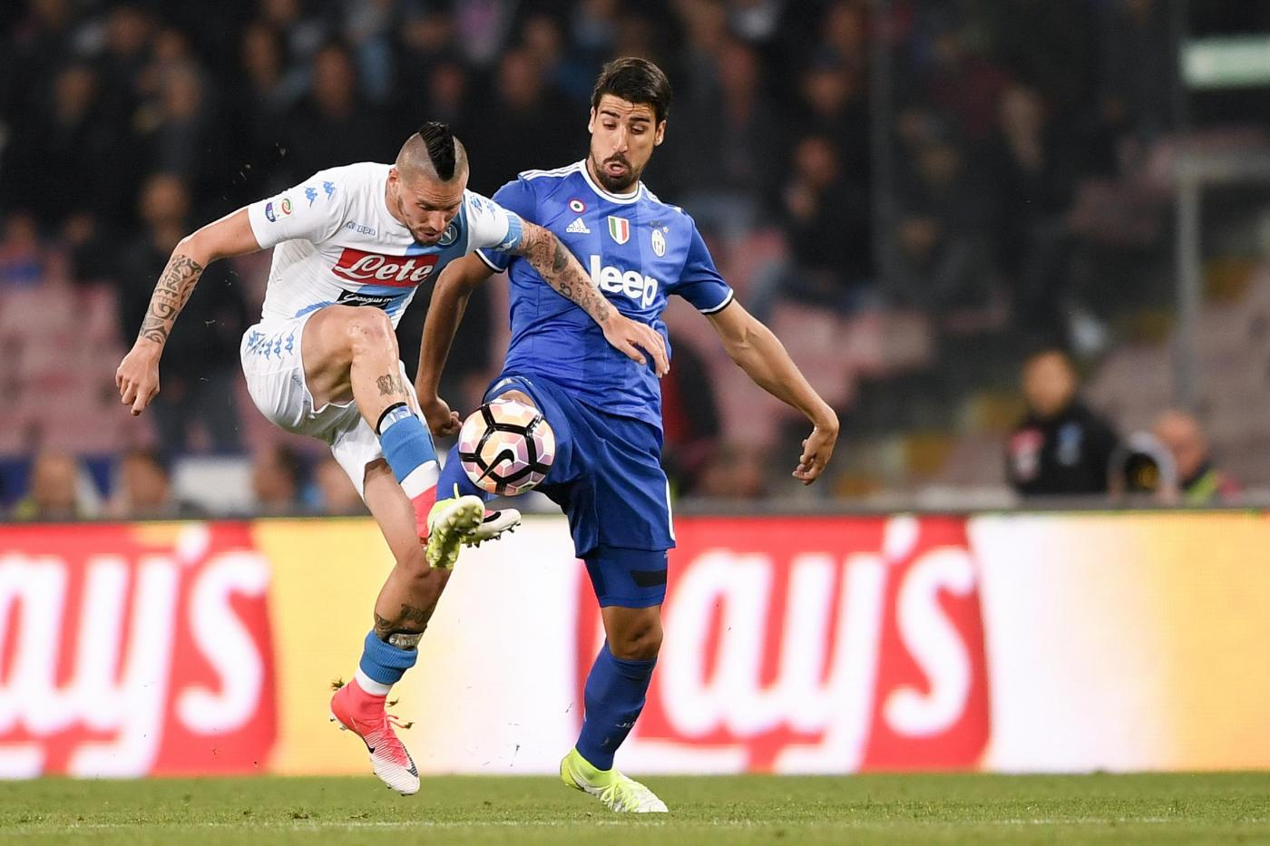 """Khedira: """"La Champions è l'obiettivo della Juventus. Non si comprano Cr7 e de Ligt per i quarti di finale"""""""