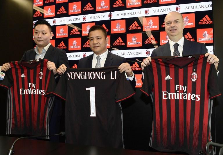 La crescita (auspicata) dei ricavi Milan: 524 milioni nel 2022, 225 dalla Cina