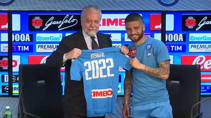 VIDEO - Il rinnovo del contratto di Insigne e l'intera conferenza stampa congiunta con De Laurentiis