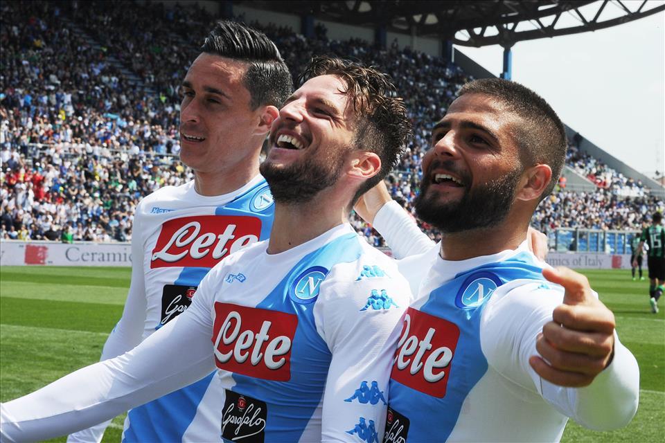 Il Napoli di Sarri cresce sempre nei finali di stagione