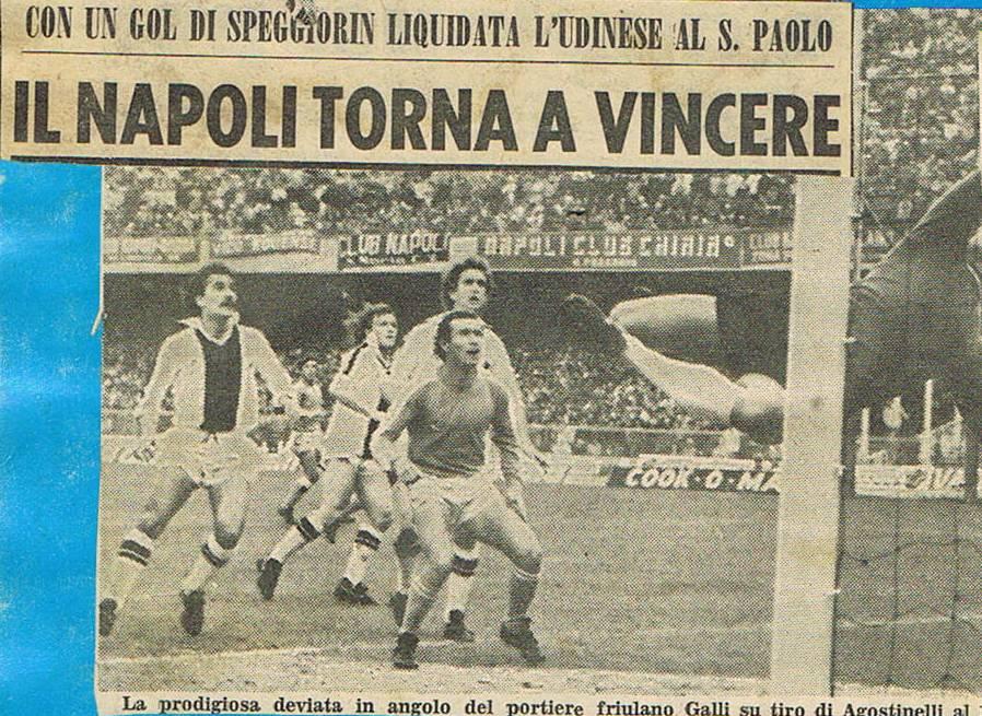 Napoli-Udinese: il signor gelato, gli sponsor, Pin e Catellani