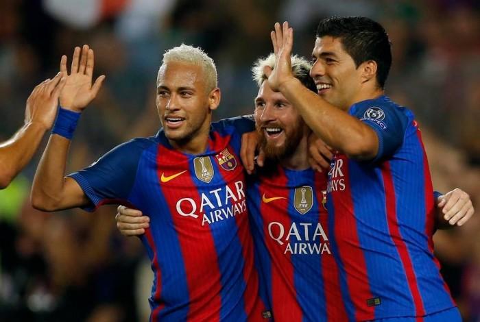 Solo Messi, Suarez e Neymar segnano più gol dei quattro moschettieri del Napoli