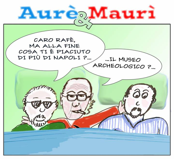 Aurè, Maurì e la visita di Rafè
