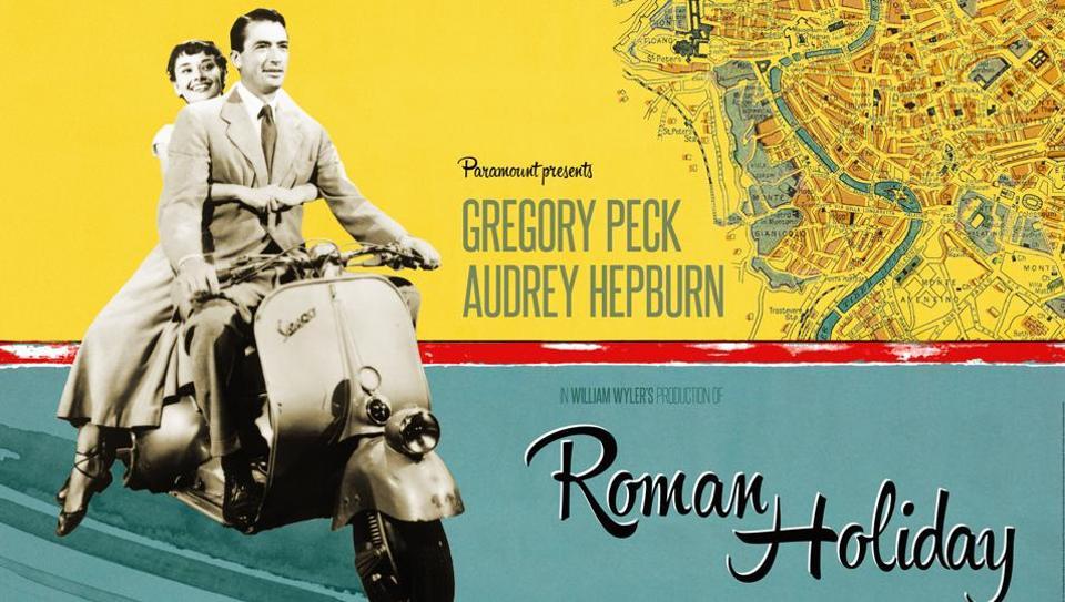 Incontro a Roma, Adl-Sarri come Peck-Hepburn; sullo sfondo, Reina e Szczesny