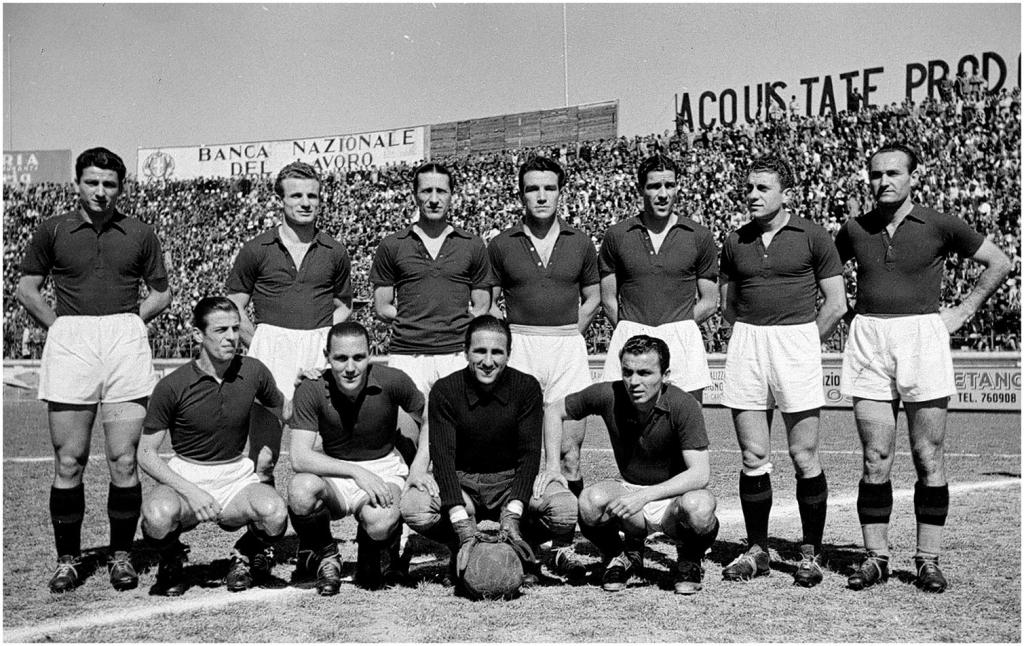 Il 4 maggio, a Superga, il grande Torino divenne per sempre un mito