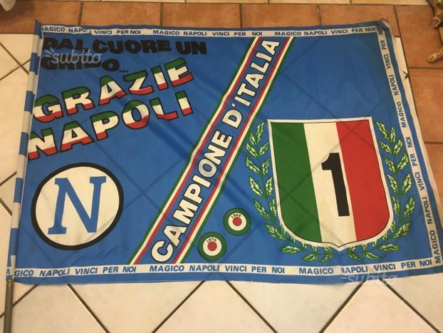 Il giorno dello scudetto, papà finalmente comprò la bandiera del Napoli