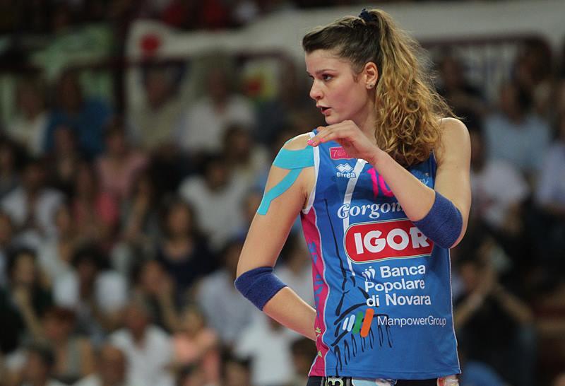 """La """"principessa Cri"""", la napoletana Chirichella, ha condotto Novara pallavolo al primo scudetto"""