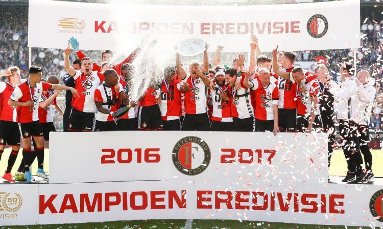 Il Feyenoord campione d'Olanda, 18 anni dopo: il progetto, i simboli, il futuro