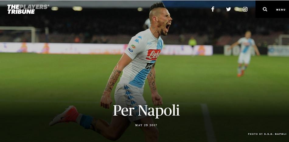 Hamsik: «Grazie Napoli, i miei dieci anni in azzurro sono un grande onore»