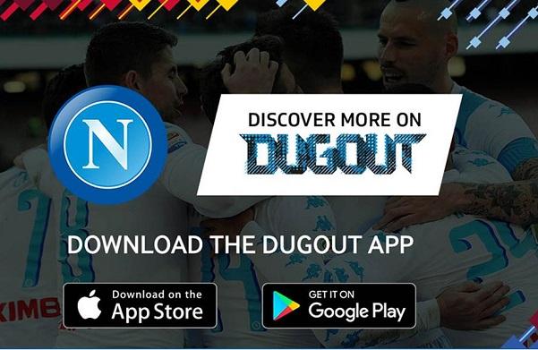 Il Napoli sbarca su Dugout, il social del calcio (e noi vi spieghiamo cos'è)